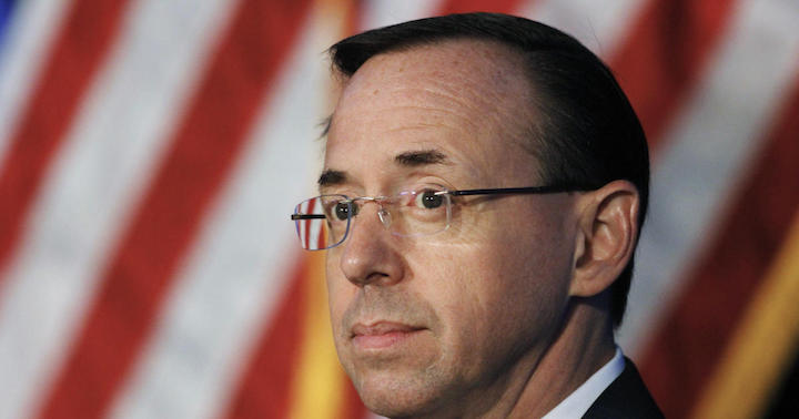 Rod Rosenstein and the History Books