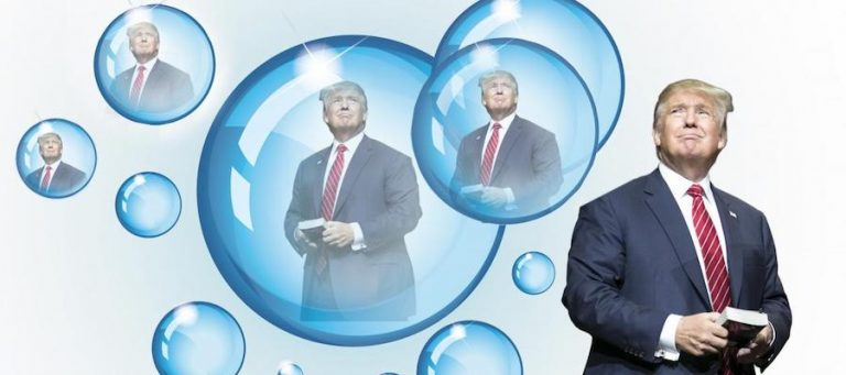 Donald Trump: Bubble Boy in the White House
