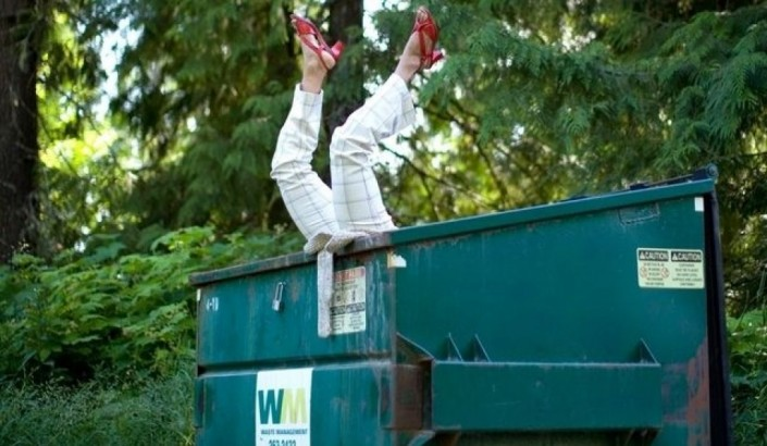 Dumpster Diving for Good News in the Era of Trump