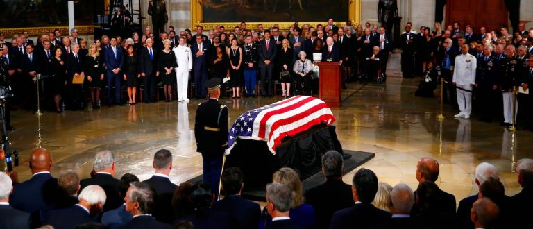 "Is John McCain's ""Voice From the Grave"" a Message for Us at a Tipping Point?"