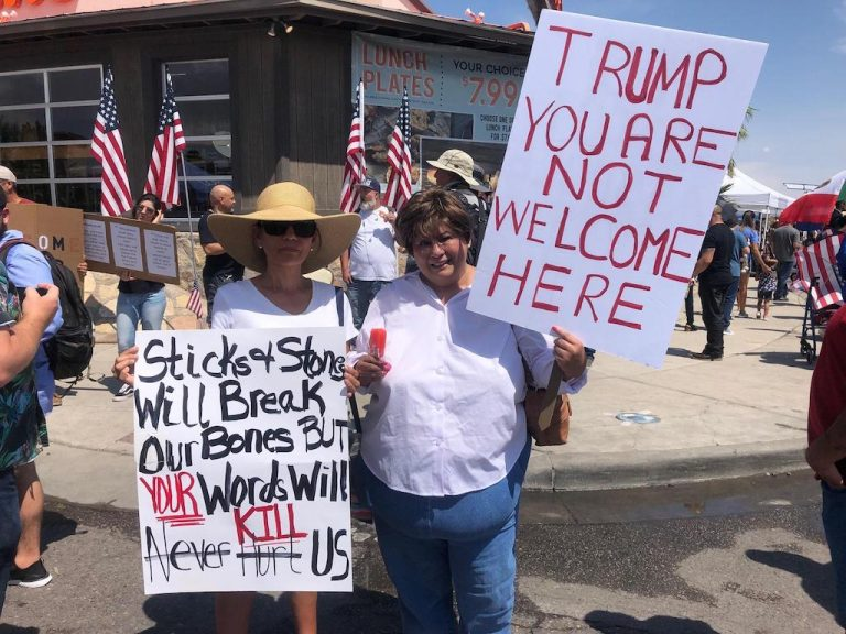Trump.  You Are Not Welcome Here!