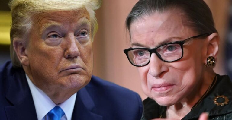 Trump's Stunt: Replace RBG ASAP Before Biden Wins