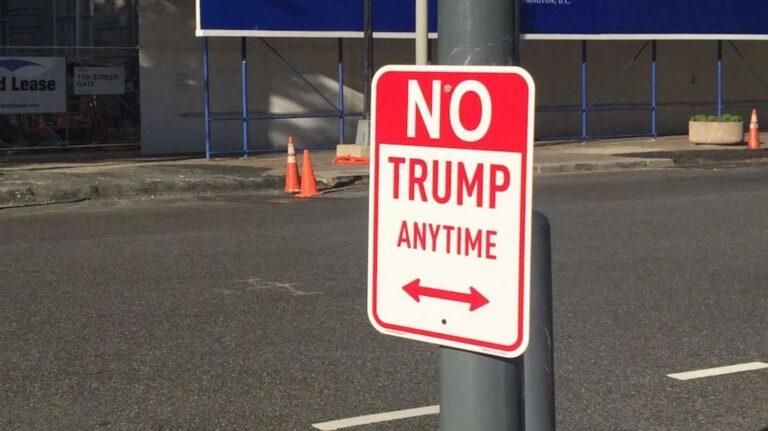 Trump: Never Ever Again!