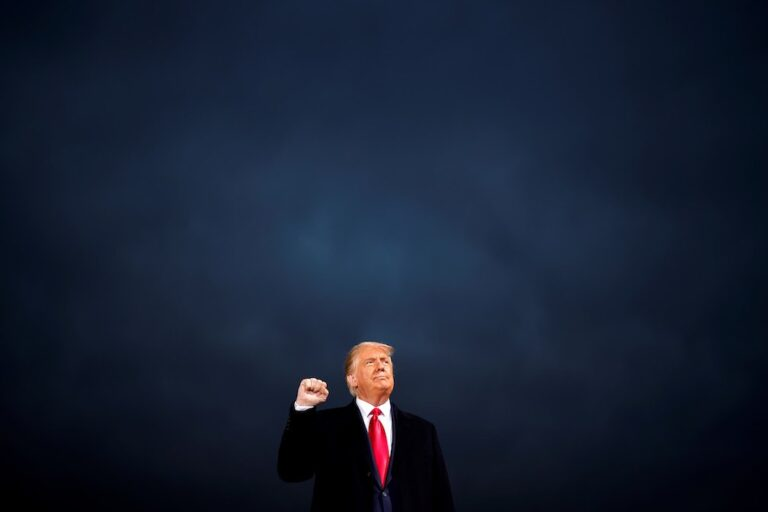 Trump's Last Stand